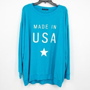 Wildfox Made In USA Sweatshirt Jumper NWOT Sz M